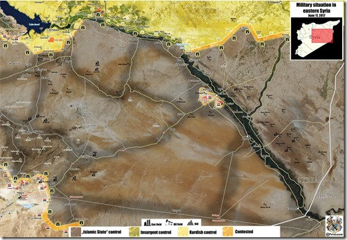 Deir Ezzor - Militaire situatie - 15 - 11-06-2017