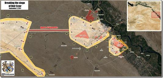 Deir Ezzor - Militaire situatie - 23 - 03-09-2017 - 1