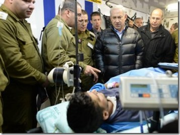 Israël verzorgt jihadisten in hopsitaal