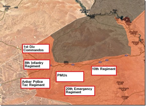 Qaim - al Bukamal - Militaire situatie - 1 - 16 september 2017