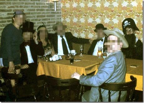 Chrtistiaan Bonkoffsky in Café Tijl