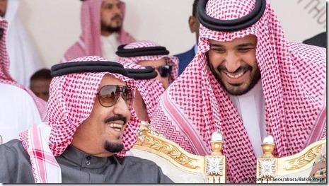 Mohammed bin Salman en koning Salman Abdoel Aziz - 1
