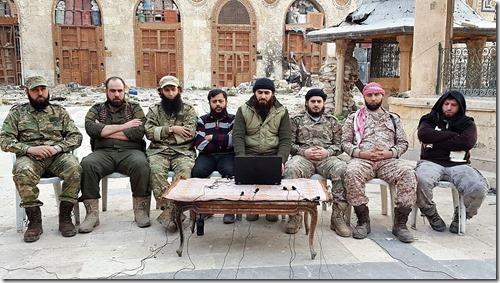 Aleppo - Gemeenteraad salafisten - 15 november 2016