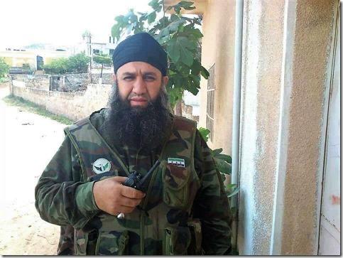 Omar Gharba, Vrij Syrisch Leger