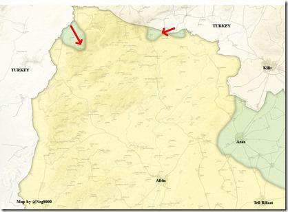 Afrin - 1 - militaire situatie - 21-01-2017