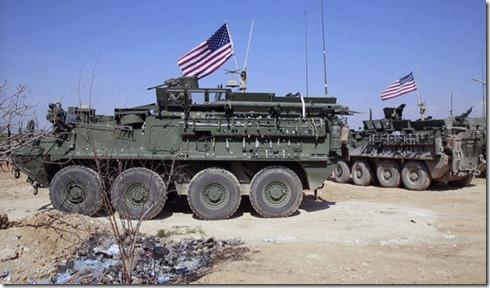 Amerikaanse troepen in Manbije - Oktober 2017