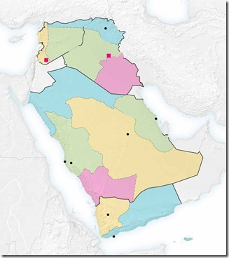 Balkanisatie Saoedi-Arabië - NYT - 28 september 2013