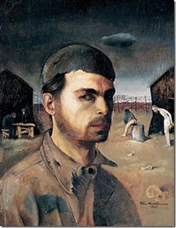Felix Nussbaum - Zelfportret