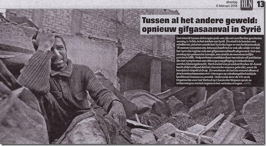 Gifgas - Het Laatste Nieuws - Guy Van Vlierden - 6 februari 2018