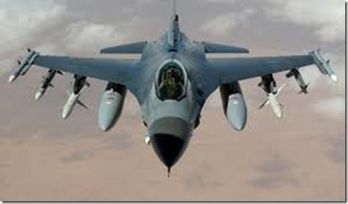 F 16 vliegtuig