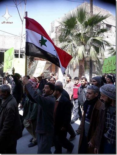 Oost-Ghoetta - betoging tegen jihadisten - 12 Maart 2016