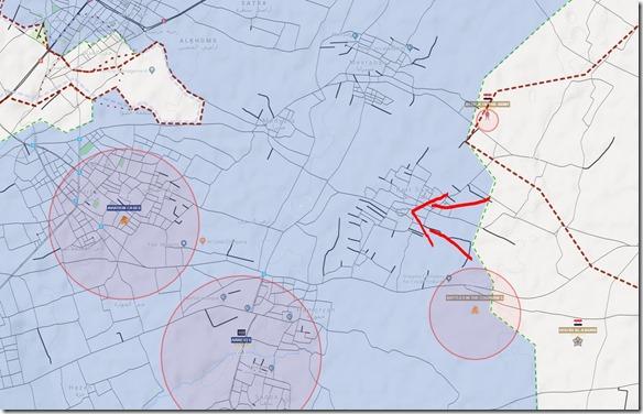 Oost-Ghouta - Militaire situatie - 27 - 7 maart - 2018