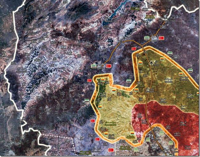 Afrin - 10 - Militaire situatie - 19-03-2018
