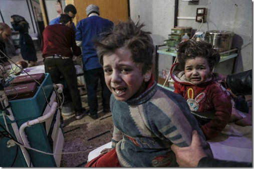 Douma Chemische aanval - 7 april 2018 - 1