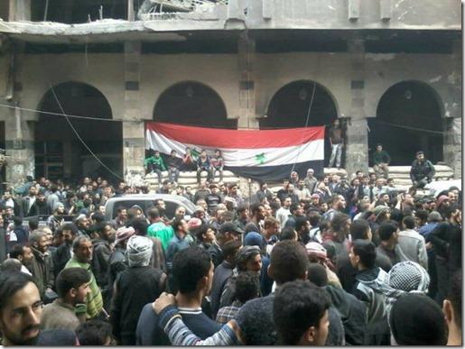 Douma - Intreden Syrisch leger - 12-04-2018 - 1