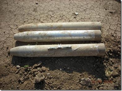 Borak raket van Iraaks leger met sarin - gekocht door Amerikaans leger na 2005