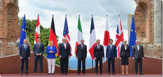 G7 Top in Canada 10 juni 2018 - 1