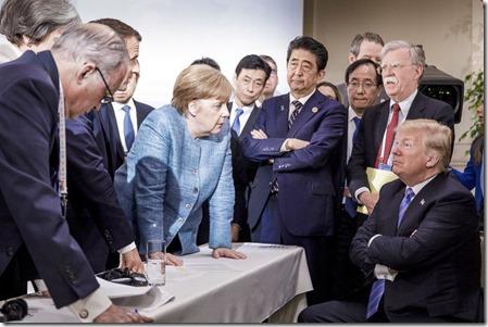 G7 Top in Canada 10 juni 2018