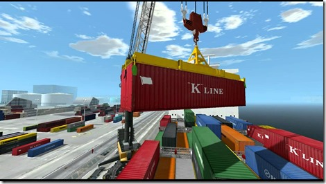 Containers in haven - 1