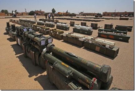 Frans anti-tankraketten Apilas - Gevonden in Daraa - 11-07-2018