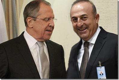 Mevlut Cavosuglu & Sergei Lavrov - 2