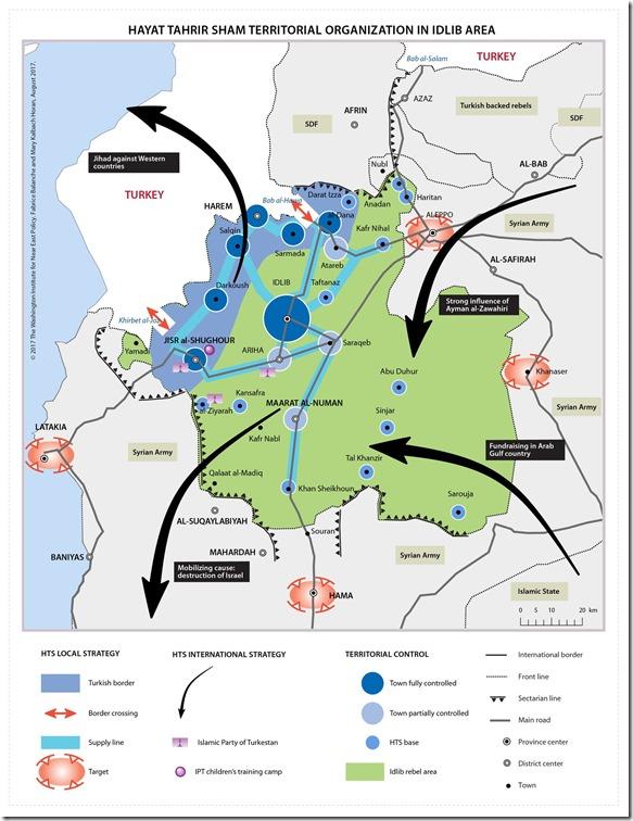Idlib - Controle al Qaeda - 1 september 2017