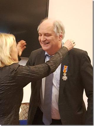 Ko Colijn - Officier in de Orde van Oranje-Nassau