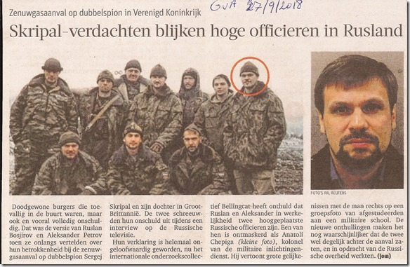 Skripal Rus Bellingcat - Het Nieuwsblad - 27-09-2018