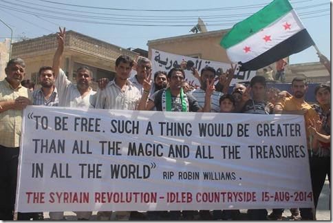 Kafranbel - Ode aan Robin Williams