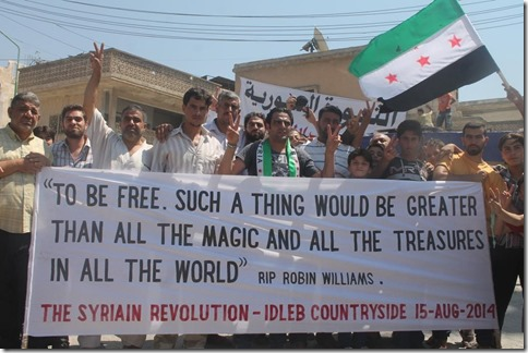 Kafranbel - Ode aan Robin Williams