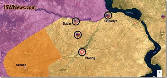 Manbij - 8 - Militaire Situatie - 28 december 2018