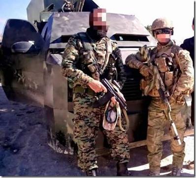 Russische advizeurs - Infanterie - Omgeving Aleppo - 12-2015