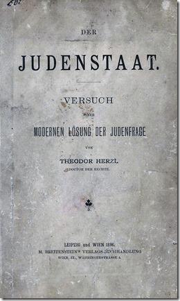 Der Judenstaat - Theodor Hertzl