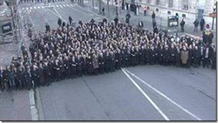 Charlie Hebdo - Betoging wereldleiders