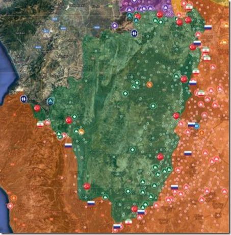 Idlib - 10 - Militaire situatie 1 april 2019