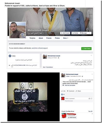 Witte Helmen - Mohammad Jnued - ISIS