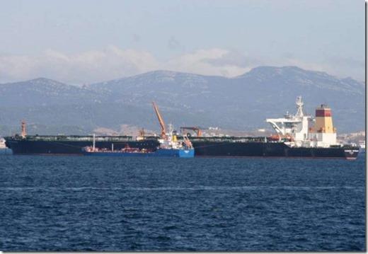Iraanse supertanker
