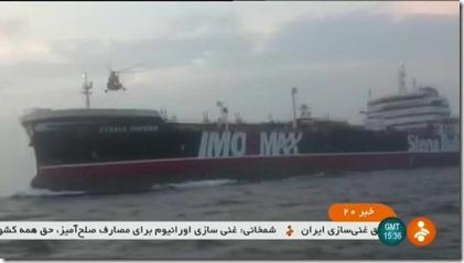 Brits schip gekaapt in Straat van Hormuz - Juli 2019