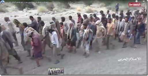 Ansar Allah - Veldslag 28 september - Verlies Saoedisch leger - Gevangenen