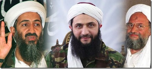 Mohammed al Jolani (al Nusra) met Bin Laden en Ayman al Zawahiri - Augustus 2012