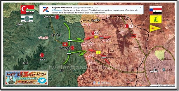 Aleppo West - SAA en YPG - 17-02-2020
