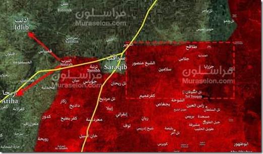 Idlib - Saraqib - Militaire Situatie - 4 - 05-02-2020