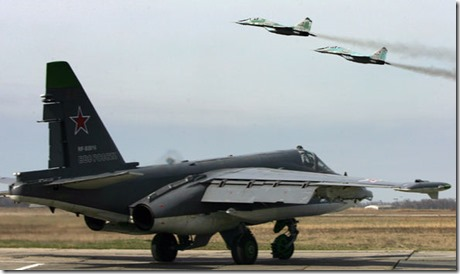 Russische gevechtsvliegtuigen - Oktober 2015