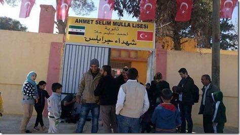 Turkse school in Jarabloes - November 2016