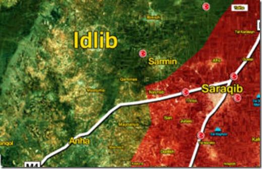 Idlib - Saraqib - Militaire Situatie - 5 - 09-02-2020