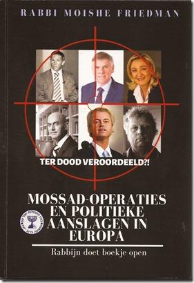 Moshe Friedman - Mossad-operaties en politieke aanslagen in Europa - boek 2020