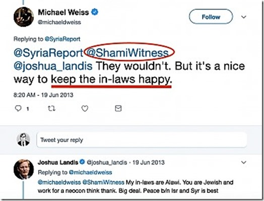 Shami Witness-Joshua-Landis-twitter  - kopie