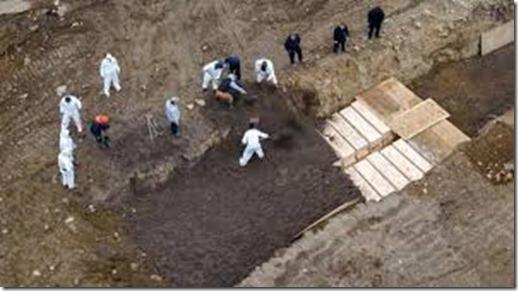 Corona - Anonieme graven New York City - April 2020