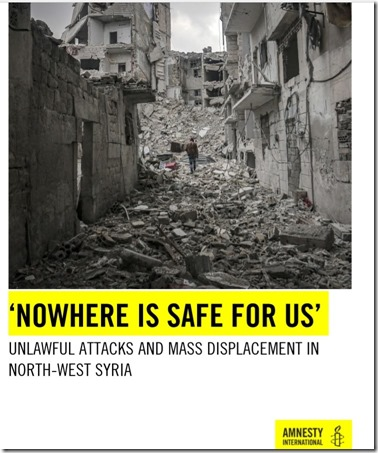 Amnesty International - Rapport Nowhere is safe for us