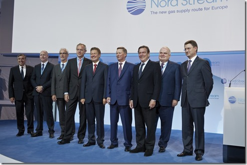 Nordstream 2  - Start project